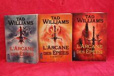 L'Arcane des Epées - Intégrale en 3 volumes - Tad Williams - Livre - Occasion