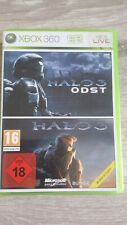 xbox 360 halo odst + halo 3 complet 2 notice version fr etat be 3 cd