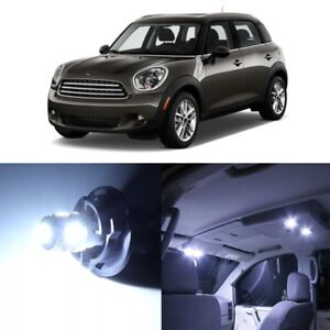 15 x White LED Lights Interior For Mini Cooper S Countryman 2011 - 2014 + TOOL