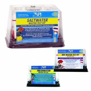 API AQUARIUM MASTER TEST KITS FISH TANK WATER TESTING CALCIUM AMMONIA NITRATE PH