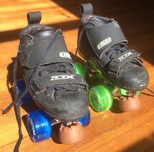 New listing Women's DBX 4 Pro Crazy Skates Sz 7+ New ToeStops & Illumin8 Wheels Retail: $380