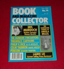 BOOK AND MAGAZINE COLLECTOR NO.74 MAY 1990