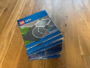 LEGO City Straßenplatten Kurve und Kreuzung - 60237 - Neu in OVP