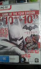 Batman Arkham City Game of the Year Edition GOTY PC Game (New and Sealed)