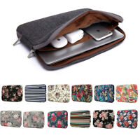 """Soft Laptop Sleeve Case Notebook Cover Bag Computer Pouch For 11""""~17"""" For Dell"""