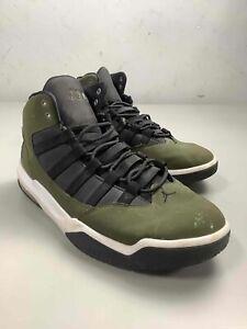 Men's Jordan Max Aura 'Olive Canvas' Shoes Size 11.5