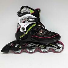 Fila primo air Wave Black/magenta Lady patines skate señora inlineskate talla 40,5