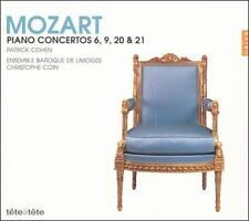 MOZART: PIANO CONCERTOS 6, 9, 20 & 21 (NEW CD)