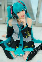 Vocaloid Hatsune Miku Cosplay  Costume Custom Any Size New