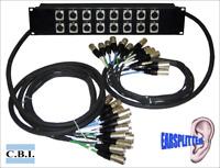 CBI 16 Ear Splitter Snake Box Rack w/ 5ft/15ft Transformers and Lifts