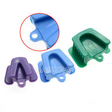 SALE 5kits Dental Autoclavable Impression Tray Silicone Mouth Prop 3pcs/kit