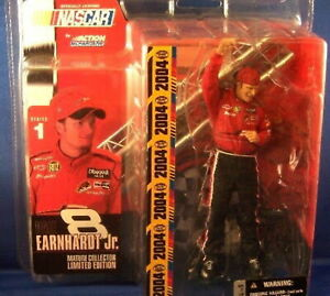 Dale Earnhardt Jr #8 Mcfarlane Toys Series 1 Mature Collector LTD figure