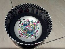 Christian Lacroix Glass Bijoux Paperweight Jewels 88 Mm Round 01171
