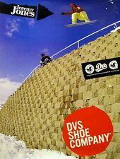 DVS 2006 Jeremy Jones 2 sided snowboard poster New Old Stock Mint Condition