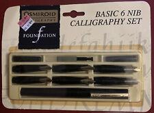 Vintage Osmiroid Fountain Pen Basic Calligraphy Set in Original Package - Nice