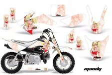 Dirt Bike Graphics Kit Decal Wrap For Honda CRF50 CRF 50 2004-2013 MANDY RED WHT