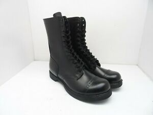 """Corcoran Men's 10"""" Leather Jump Boots 975 *Made in USA* Black Size 10E"""