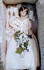 Danbury Mint 1987 Princess Diana Doll Bride Royal Wedding Dress. New in box.