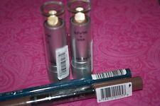 NYX Round Lipstick  LSS 539 METIS  LOT OF 2 SEALED +  2X FREE EYELINER