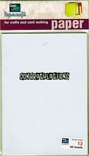 CARD INSERTS - A6 - CONGRATULATIONS  - PACK OF 12 -  CARDS - CARD MAKING