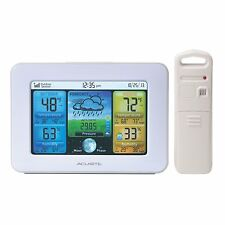 AcuRite 02041M Color Weather Station with Forecast, Temperature, Humidity 110V