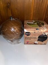 NEW Laboul Wine Bag Dispenser - Round Beverage Container -3 Liter- Wood Grain -