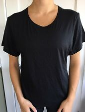 Lululemon Size 10 Jericho Crew SS Black Short Sleeve SHIRT NWT Run Swiftly Year