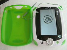 Green Leap Pad 2 With 5 Games, Protective Case, Charger And Carry Bag
