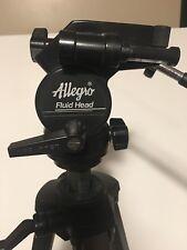 Allegro Fluid Head Camera Mount Alg1154 Tripod Combo