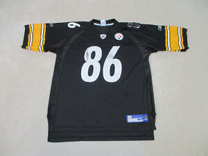 Reebok Hines Ward Pittsburgh Steelers Football Jersey Adult Extra Large Mens *