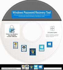 Windows Password RESET, Remove CD -Works on ALL Windows 10, 8, 7, Recovery Unloc