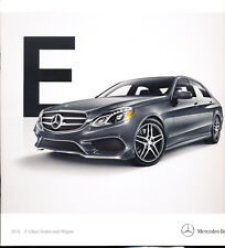 2015 Mercedes Benz E-Class 32-page Car Brochure Catalog - E400 E63 AMG E250 E350