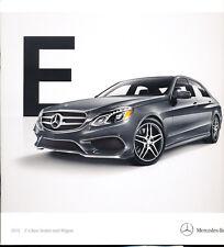 2015 Mercedes Benz E-Class 32-page Car Brochure Catalog - E400 E63 AMG E250 E350