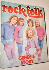 Rock & Folk n° 126 Juillet 1977 GENESIS STORY
