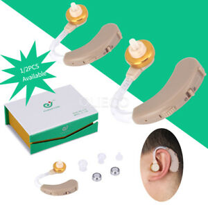 Digital Hearing Amplifier Aid Aids Kit Behind The Ear BTE Sound Voice Amplifier