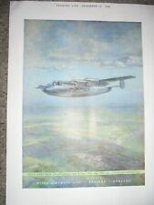 Miles Aircraft Marathon light air-liner art advert 1946 ref AL
