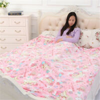 My Melody Little Twin Stars Flannel Blanket Rug Throw Bedding Sheet  Pillowcase