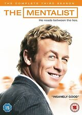 THE MENTALIST - COMPLETE SEASON 3 - DVD - UK Region 2 / sealed