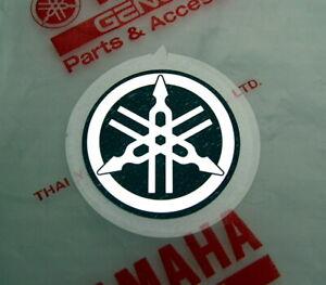 ORIGINAL Yamaha- 2,5cm-FOLIENAUFKLEBER-CHROM-Sticker-Aufkleber-Emblem-LOGO-25mm