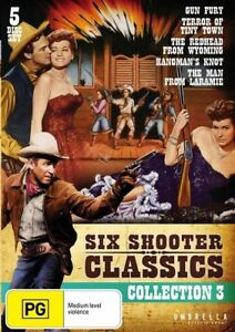 Six Shooter Classics Collection 3 (DVD, 5-Disc Set) BRAND NEW SEALED 🎬🎬