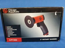 "CHICAGO PNEUMATIC CP7202 3"" Air Rotary Sander 0.2 HP 15000 rpm"