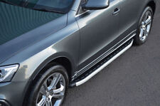 Aluminium Side Steps Bars Running Boards To Fit Audi Q5 (2008-17)