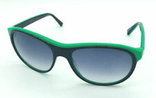 """Mosley Tribes """"107211"""" 6018S Black & Green / Blue Gradient Sunglasses"""