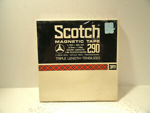 Scotch Magnetic Recording Tape 290 New Sealed