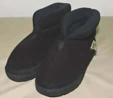 Western Chief Boots Toddler Size 8 Black and Blue Winter Shoes