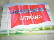 Citroen Accessories brochure 1983 + price list