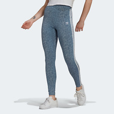 adidas Womens Originals Leggings in leopard print