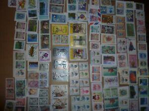 40 grams mixtures Thailand stamps on single paper kiloware