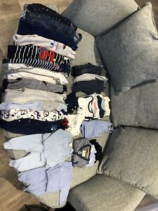 Baby boy clothes bundle 0-6 months