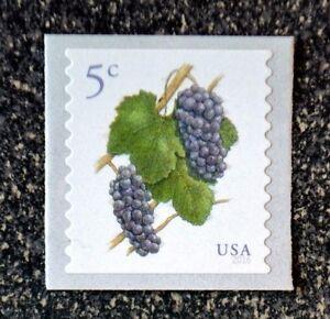 2016USA #5038 5c Grapes - Coil Single  Mint  NH    grape